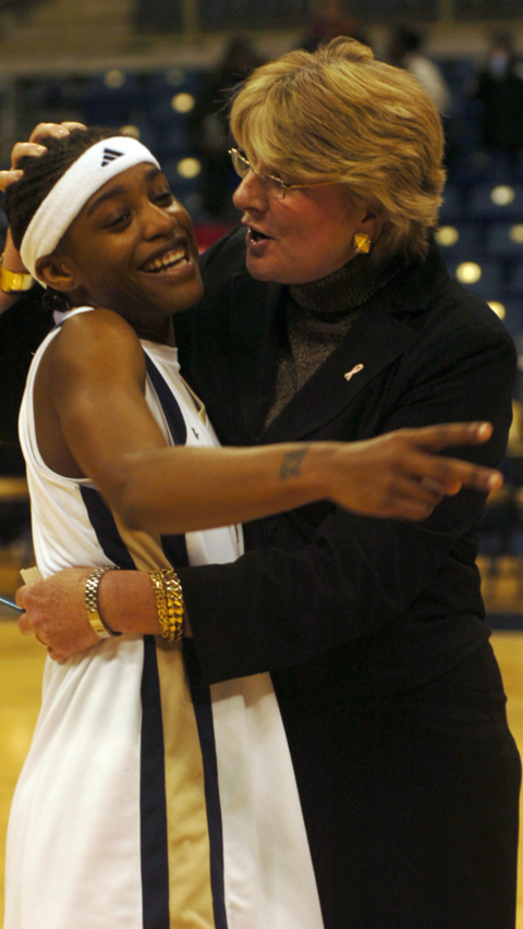 Agnus Berenato and Shavonte Zellous